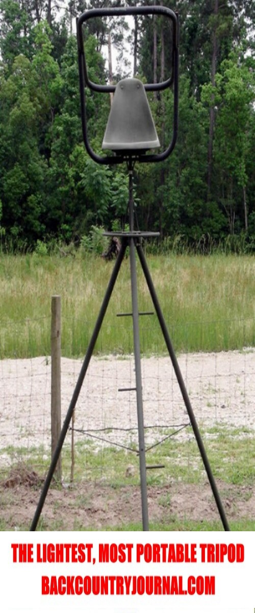 lightest hunting tripod ever