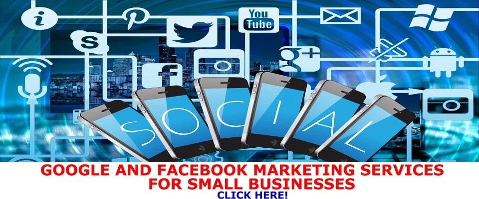 google and                         facebook marketing services